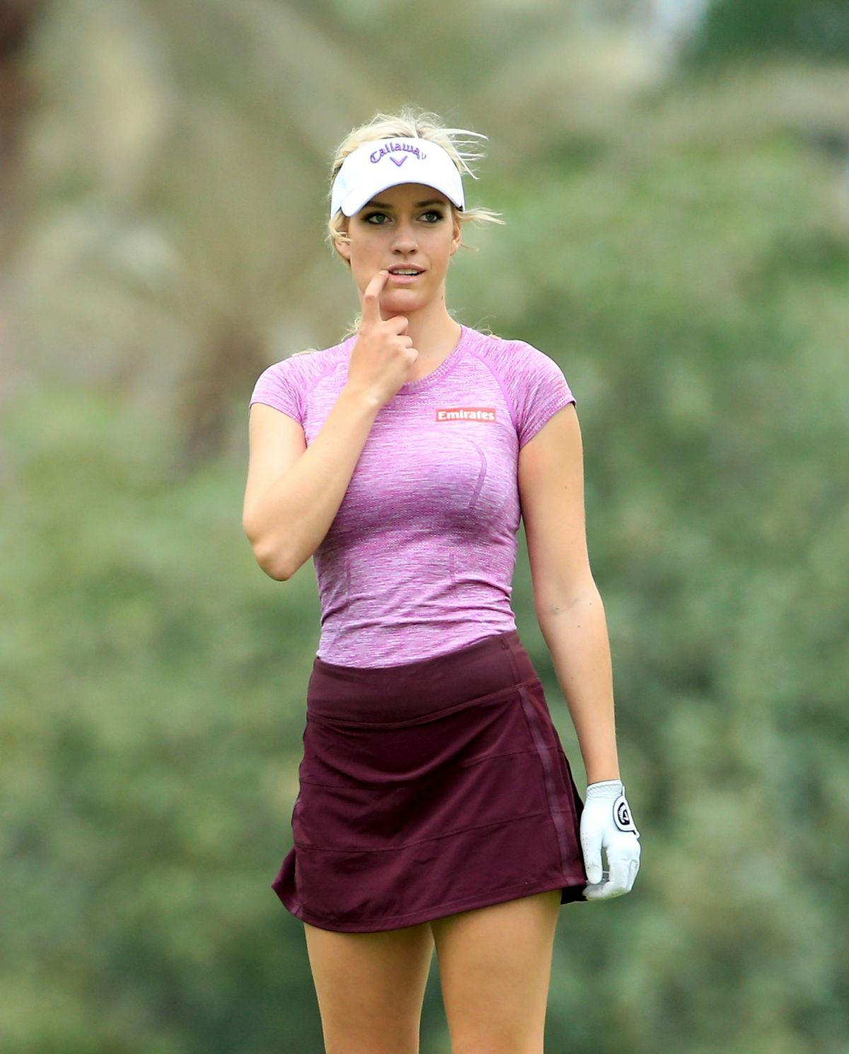 PAIGE SPIRANAC at Omega Dubai Ladies Masters 2015