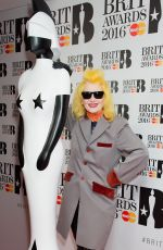 PAM HOGG at Brit Awards 2016 Nominations Launch in Waterloo 01/14/2016