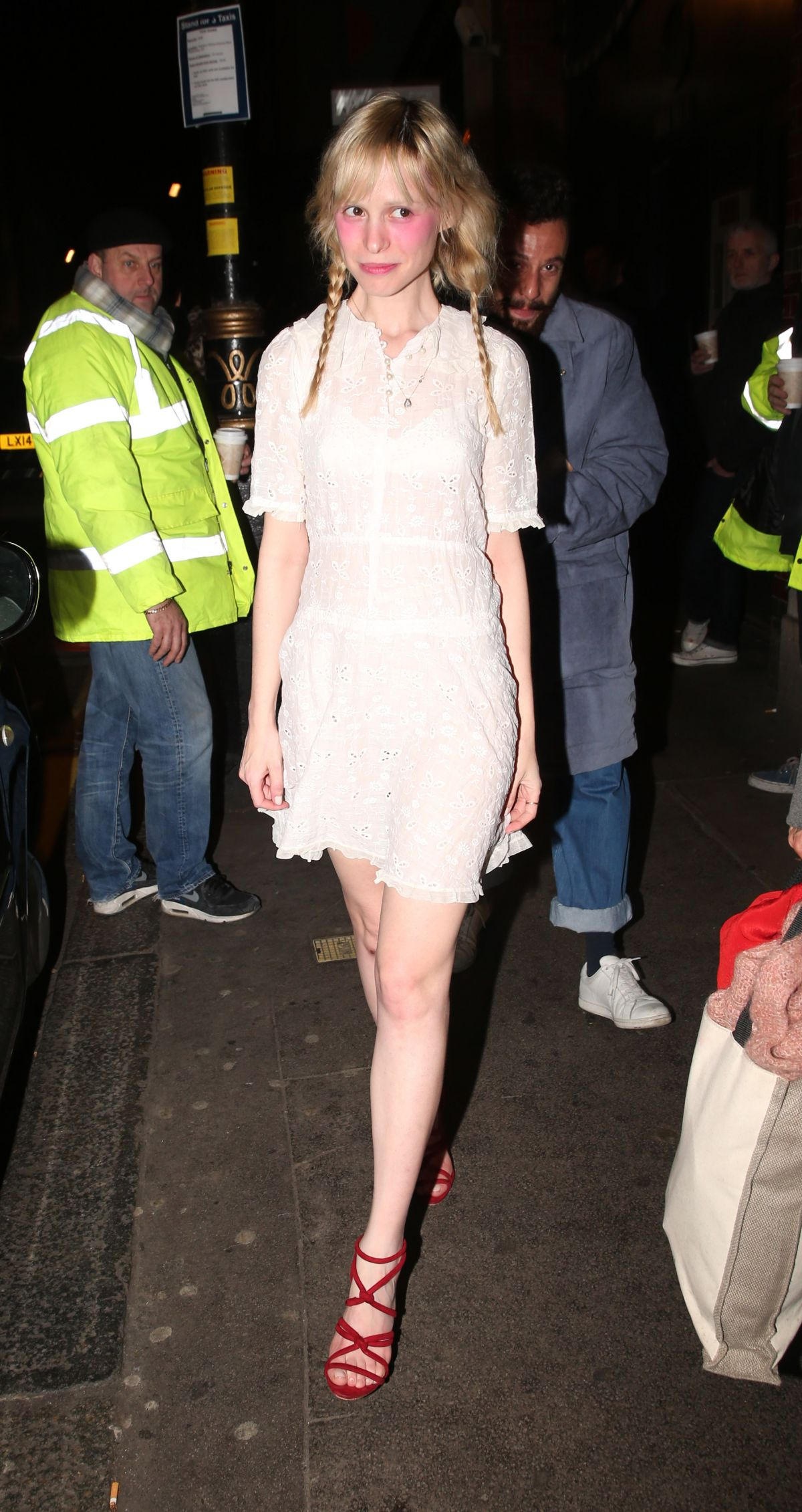 PETITE MELLER at 100 Wardour Street Launch in London 01/28/2016