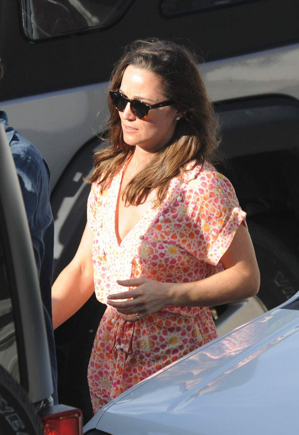 PIPPA MIDDLETON Leaves Nikki Beach in St. Barthelemy 01/03/2015