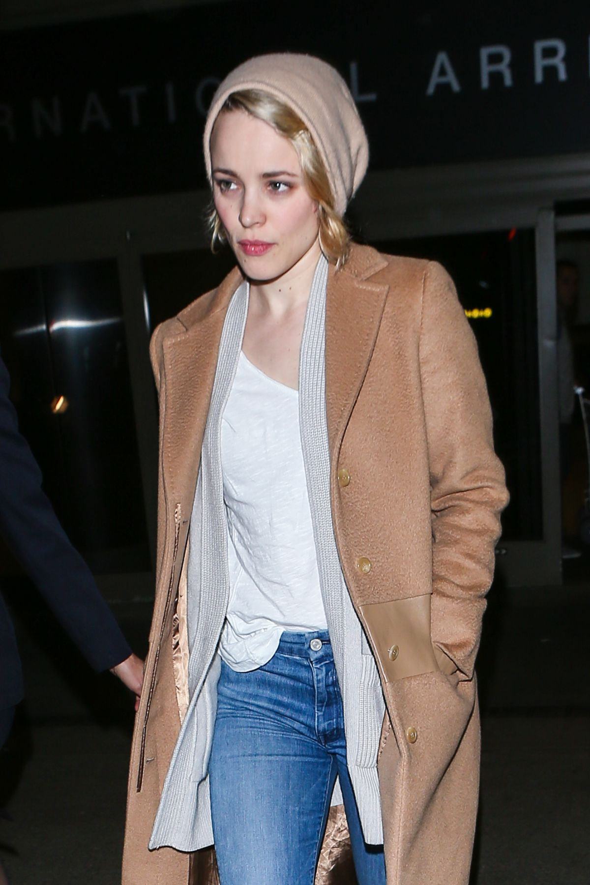 RACHEL MCADAMS Arrives at LAX Airport in Los Angeles 01/09 ...