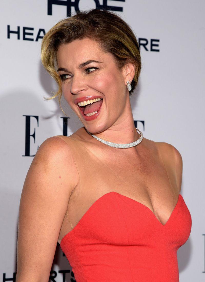 REBECCA ROMIJN at Elle's Women in Television 2016 ...