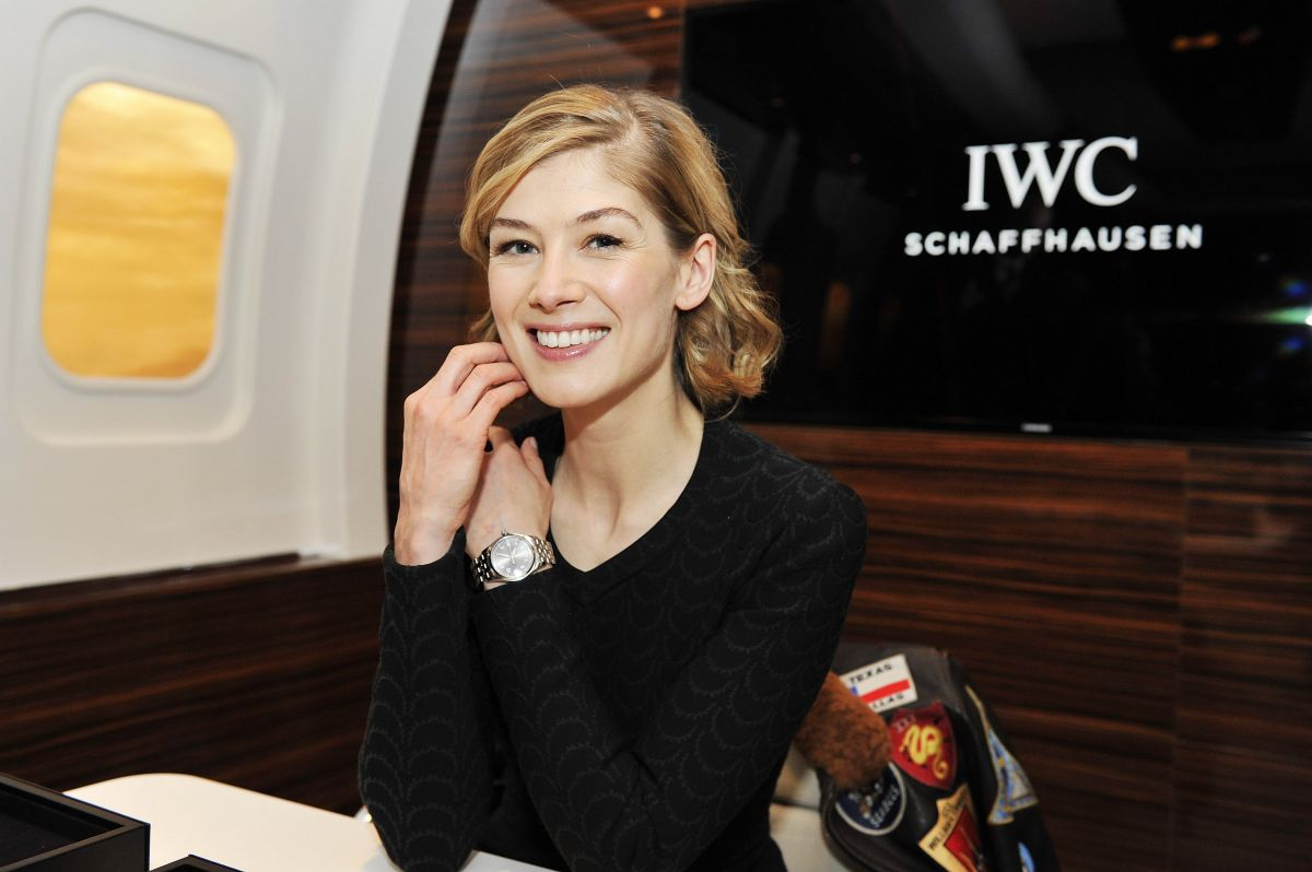 ROSAMUND PIKE at IWC B...