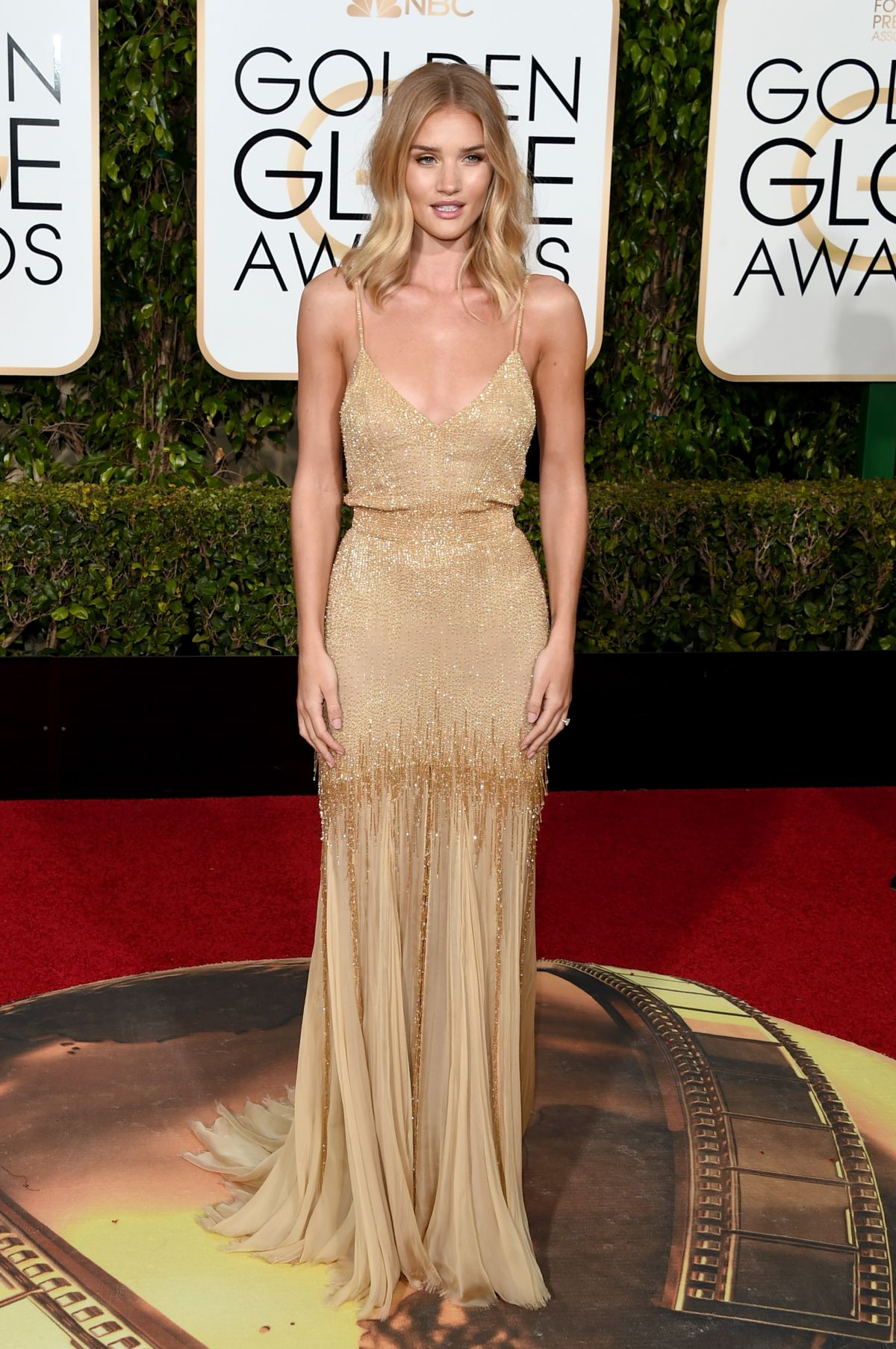ROSIE HUNTINGTON-WHITELEY at 73rd Annual Golden Globe Awards in Beverly Hills 10/01/2016