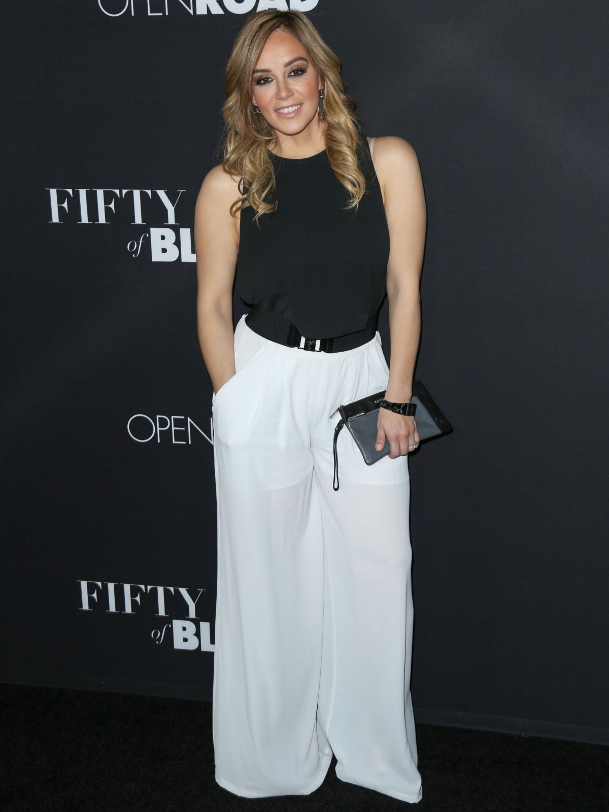ROSIE RIVERA at Fifty Shades of Black Premiere in Los Angeles 01/26/2016