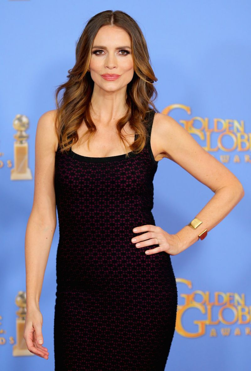 SAFFRON BURROWS at 73rd Annual Golden Globe Awards in Beverly Hills 10/01/2016