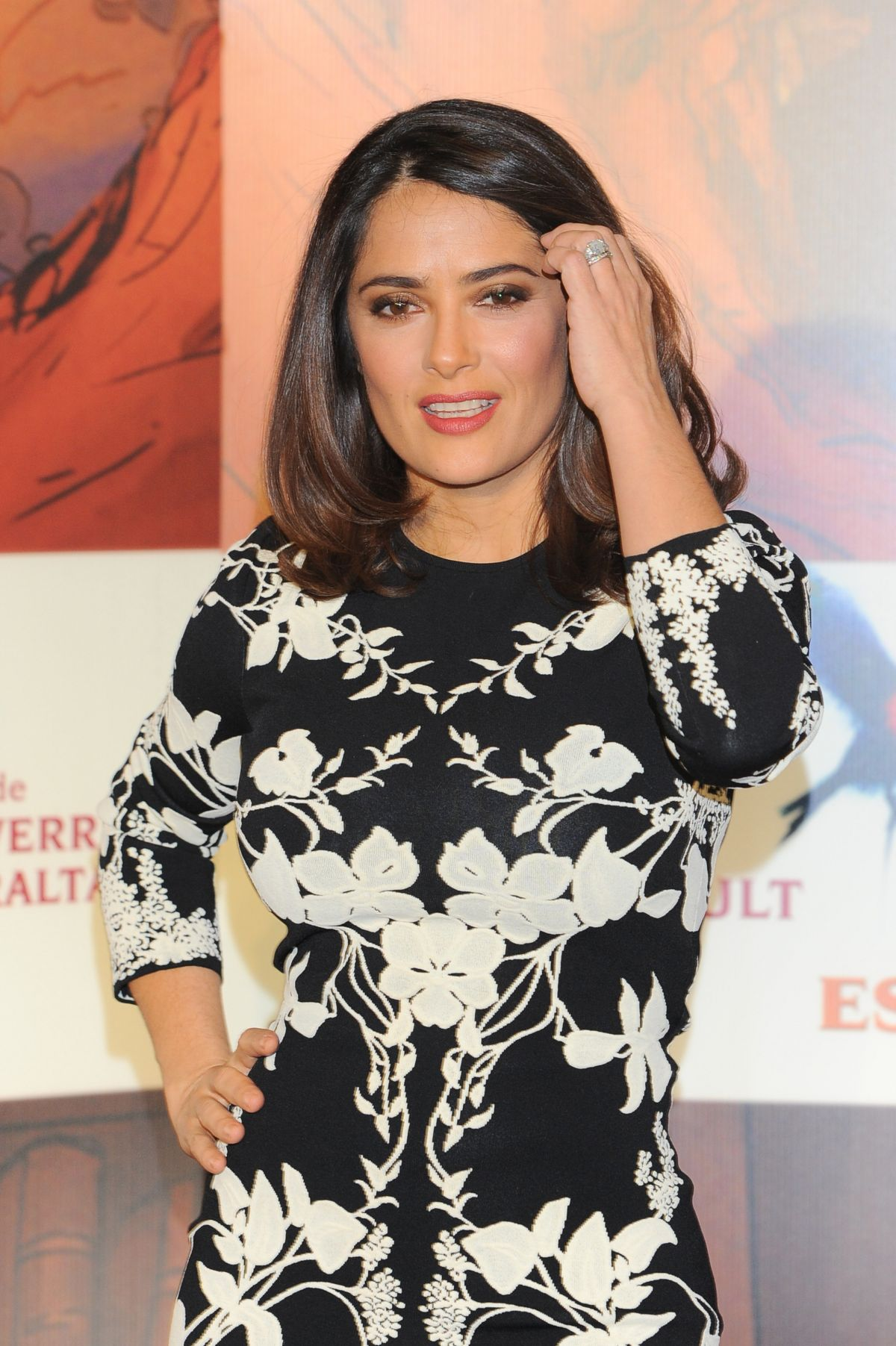 SALMA HAYEK at El Profeta Photocall in Mexico City 01/16/2016 Salma Hayek