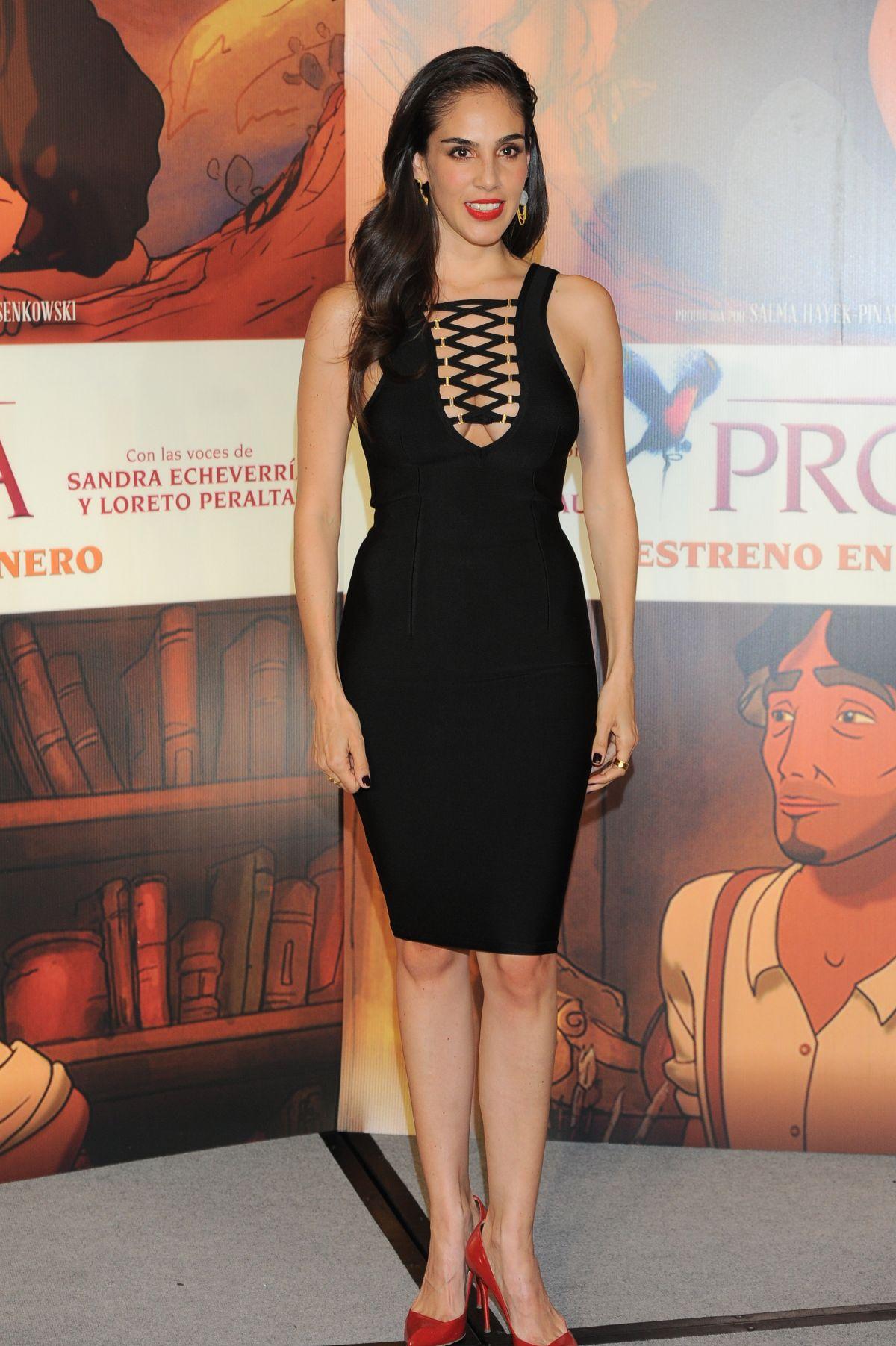 SANDRA ECHEVERRIA at El Profeta Photocall in Mexico City 01/16/2016