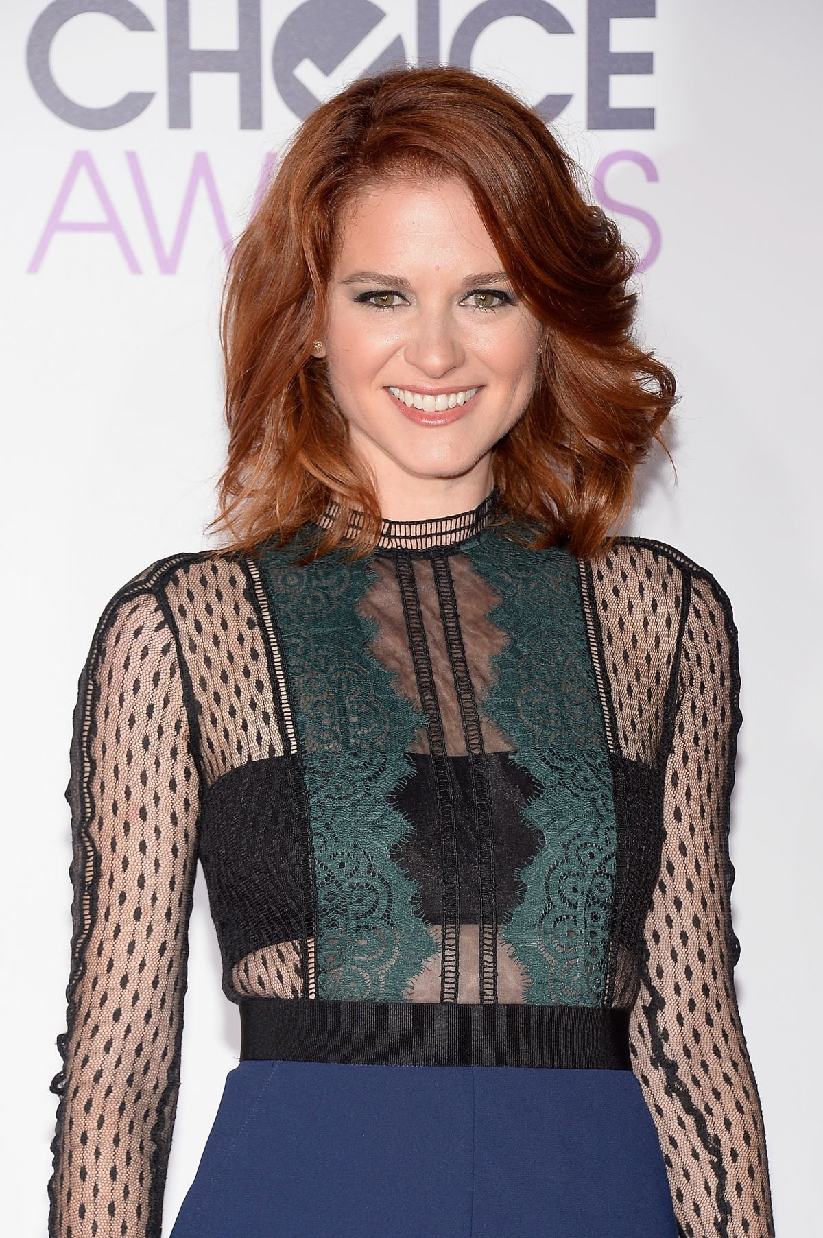 SARAH DREW at 2016 People's Choice Awards in Los Angeles 01/06/2016