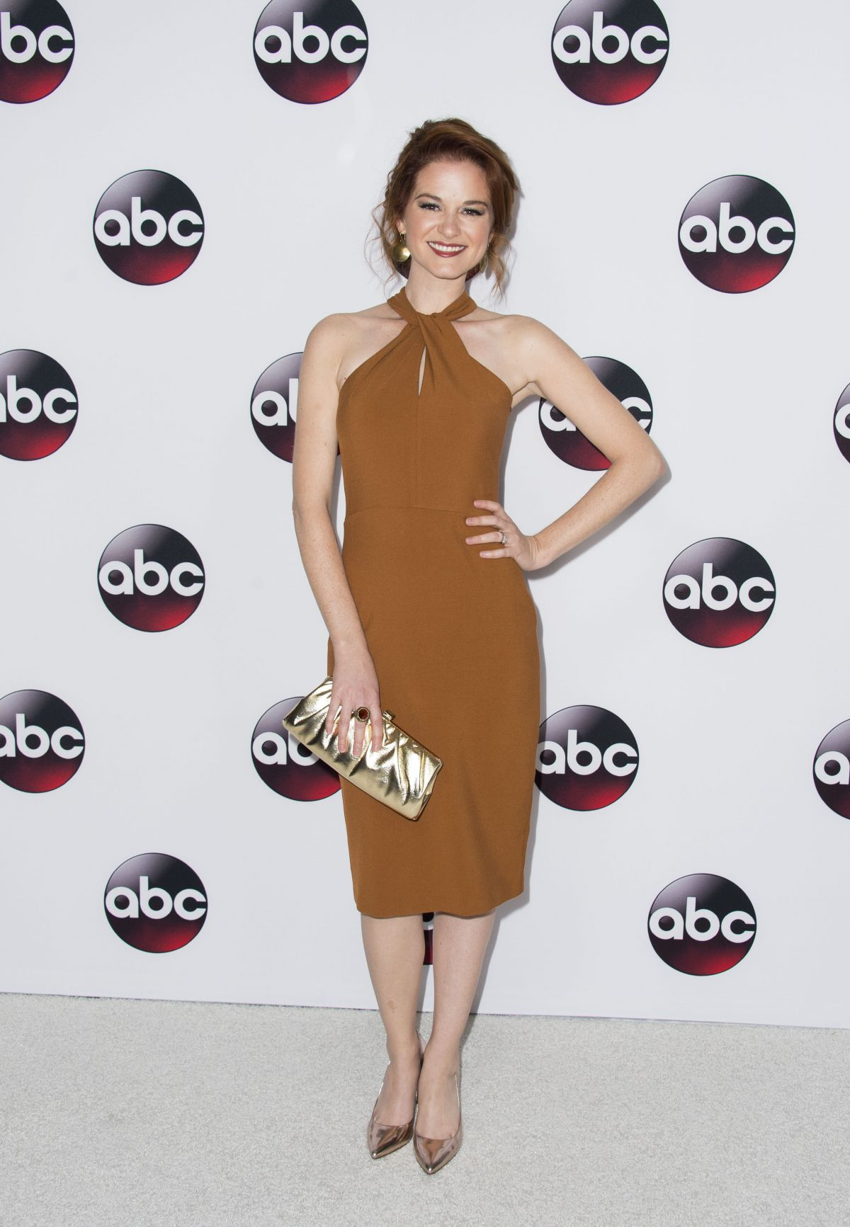 SARAH DREW at ABC 2016 Winter TCA Tour in Pasadena 001/09/2016