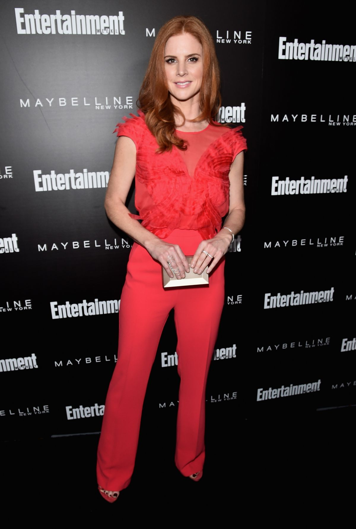 SARAH RAFFERTY at EW Celebration Honoring the Screen Actors Guild Awards Nominees in Los Angeles 01/29/2016