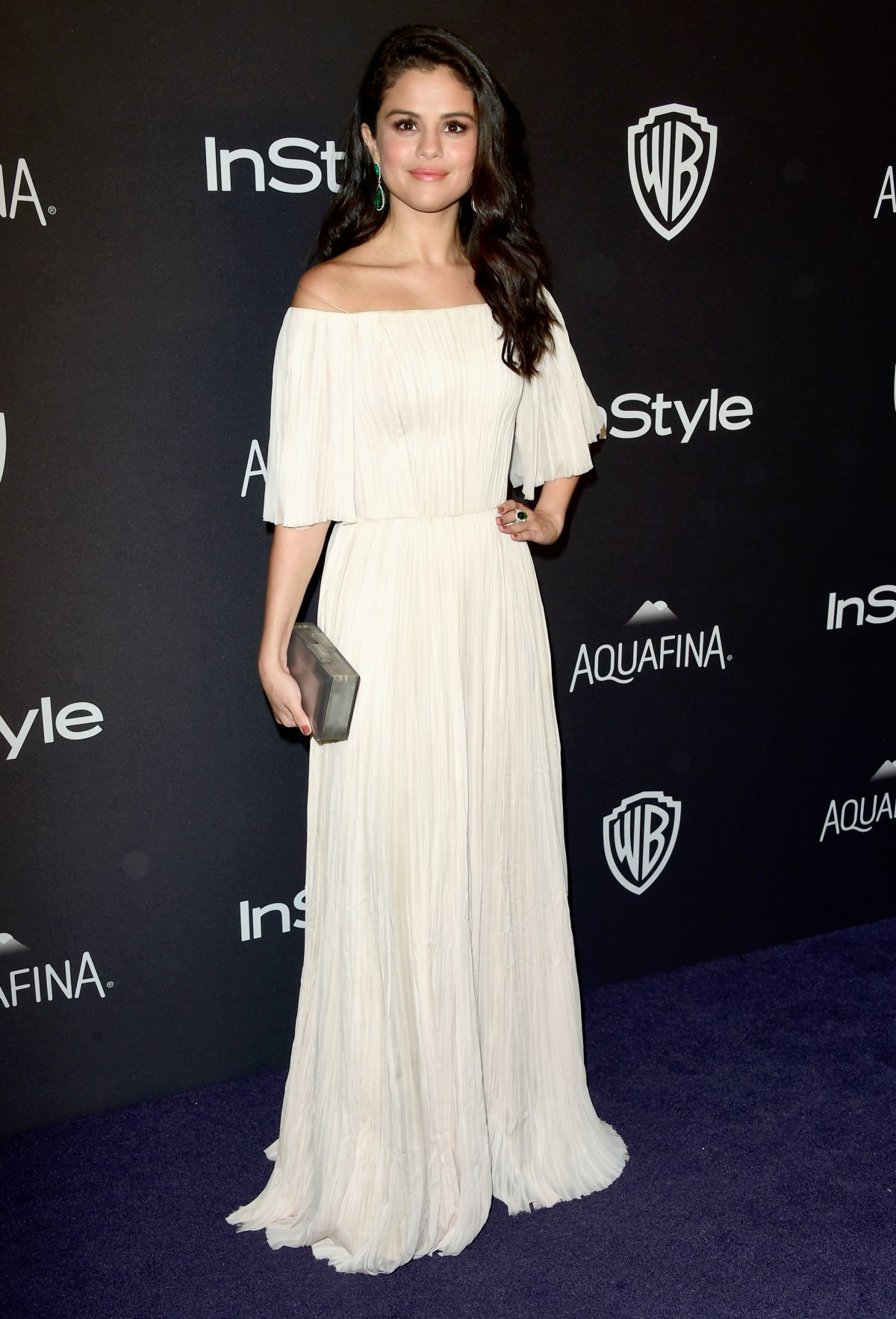 SELENA GOMEZ at Instyle and Warner Bros. 2016 Golden Globe Awards Post-party in Beverly Hills 01/10/2016