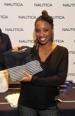 SHANOLA HAMPTON at Luxury Lounge in Beverly Hills 01/08/2016