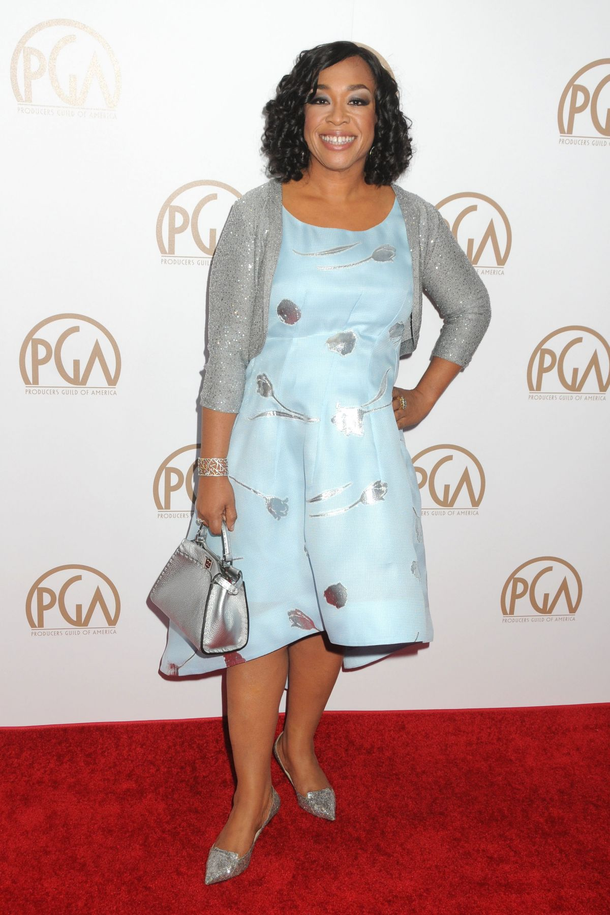 SHONDA RHIMES at 27th Annual Producers Guild Awards in Los Angeles 01/23/2016