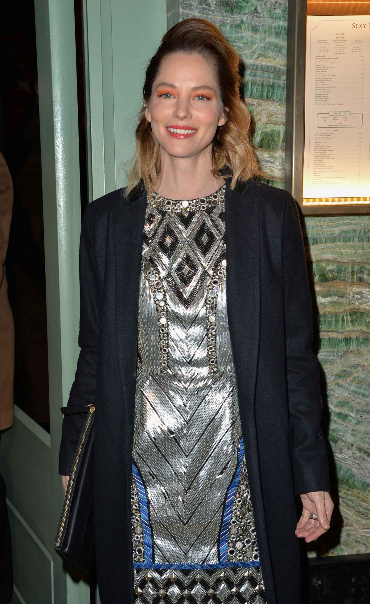 SIENNA GUILLORY at a Private Dinner of Creme De La Mer in London 01/21/2016