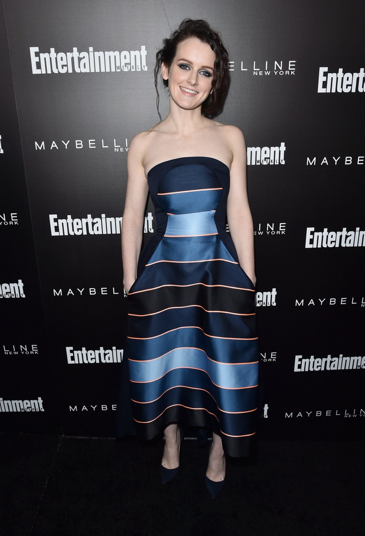 SOPHIE MCSHERA at EW Celebration Honoring the Screen Actors Guild Awards Nominees in Los Angeles 01/29/2016