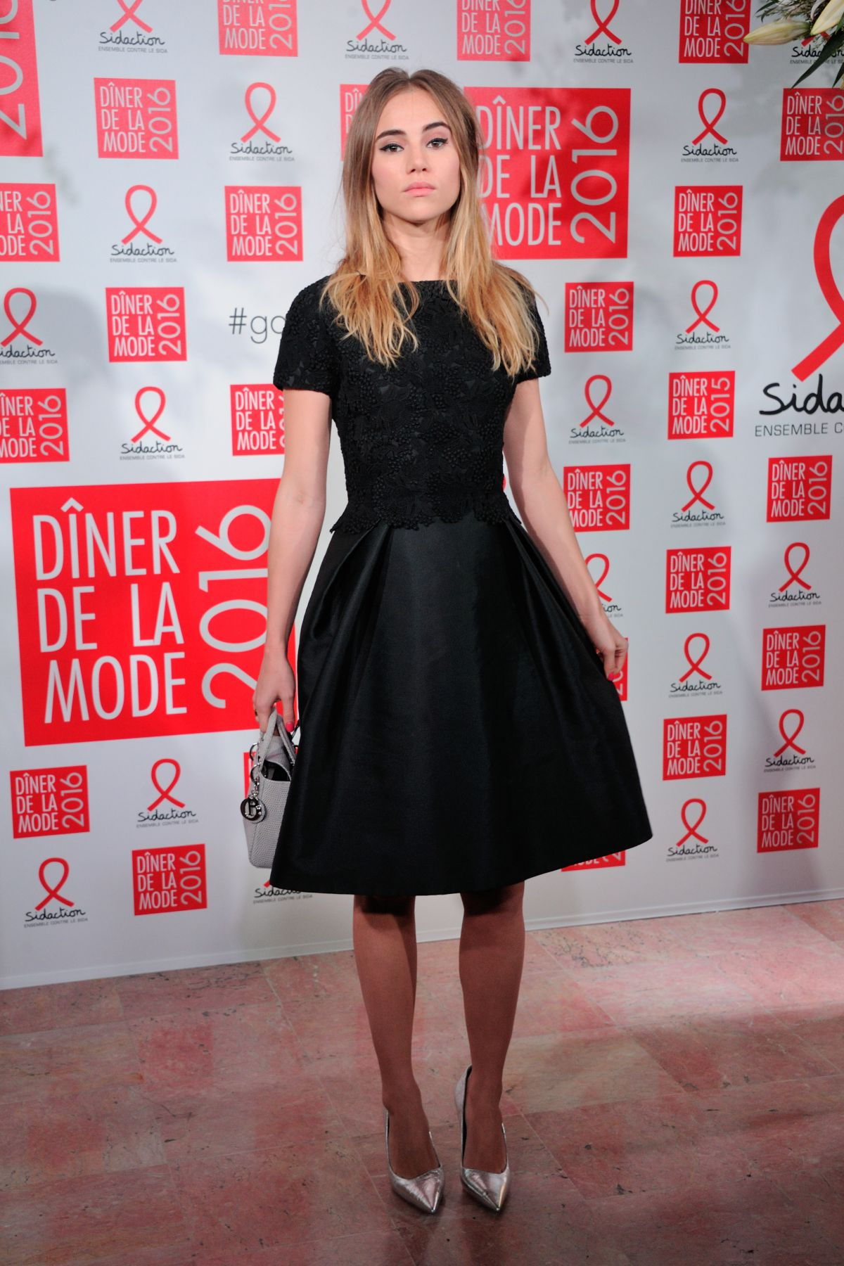 SUKI WATERHOUSE at Sidaction Gala Dinner 2016 in Paris 01/28/2016