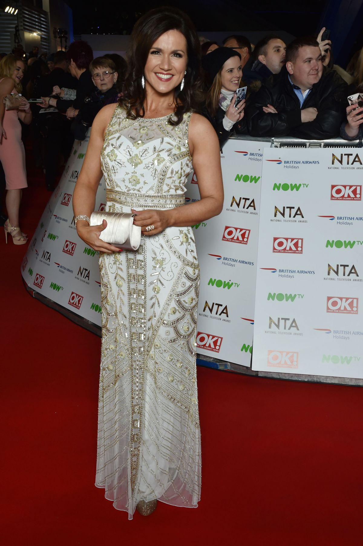 SUSANNA REID at 2016 National Television Awards in London 01/20/2016