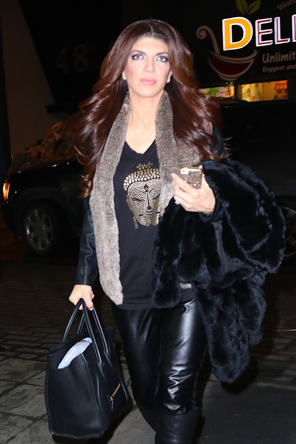TERESA GUIDICE Out and About in New York 01/26/2016