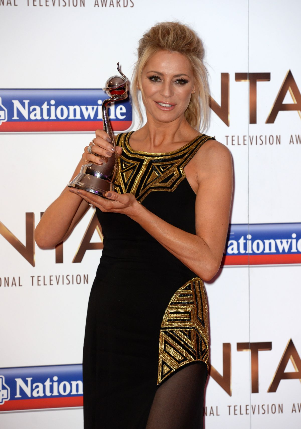 TESS DALY at 2016 National Television Awards in London 01/20/2016
