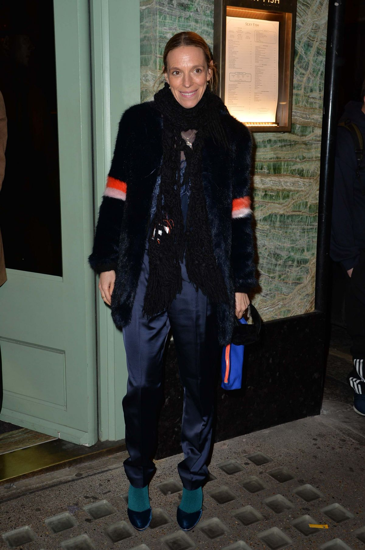 TIPHANIE CHAPMAN at a Private Dinner of Creme De La Mer in London 01/21/2016