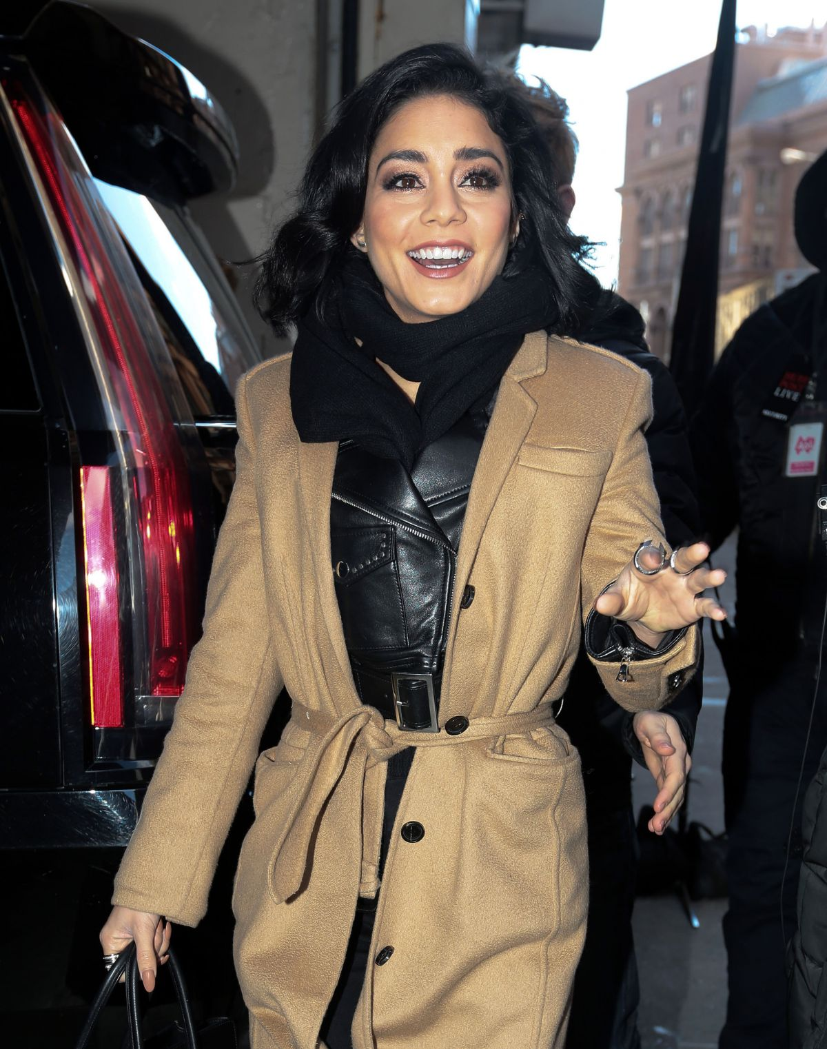 VANESSA HUDGENS Out in New York 01/18/2016 - HawtCelebs