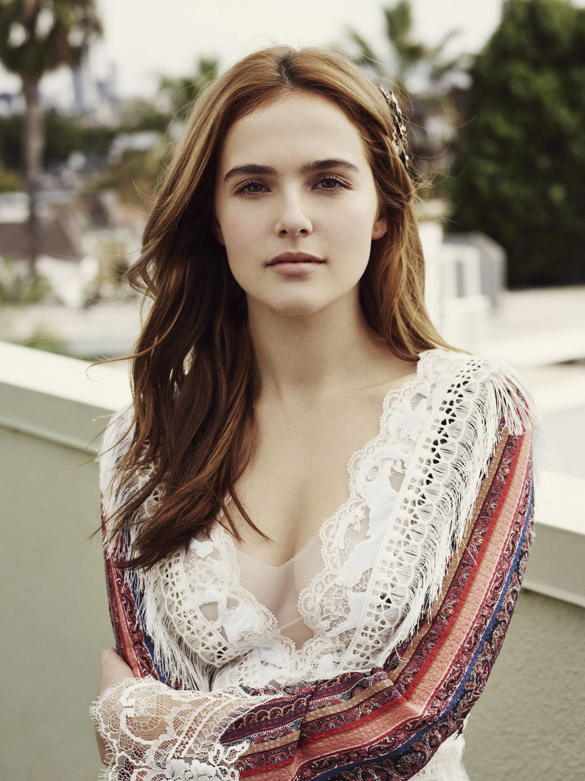 ZOEY DEUTCH in W Magazine, January 2016 Issue