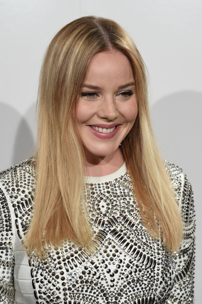 ABBIE CORNISH at Herve Leger Fall 2016 Presentation at New York Fashion Week 02/13/2016