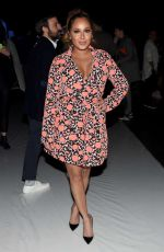 ADRIENNE BAILON at Desigual Fall 2016 Fashion Show at New York Fashion Week 02/11//2016