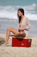 ALEJANDRA GUILMANT in Bikini on the Set of 2017 Wurth Calendar in Miami 01/25/2016