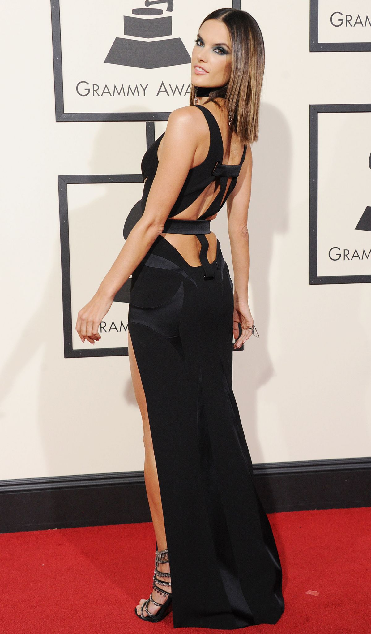 ALESSANDRA AMBROSIO at Grammy Awards 2016 in Los Angeles 02/15/2016 ...