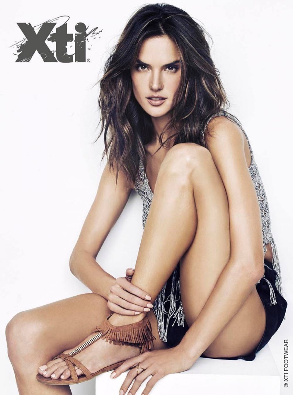Alessandra ambrosio for xti shoes spring summer 2016 campaign