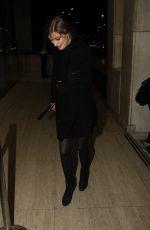 ALEXANDRA MARIA LARA at Bounce Restaurant in London 02/01/2016