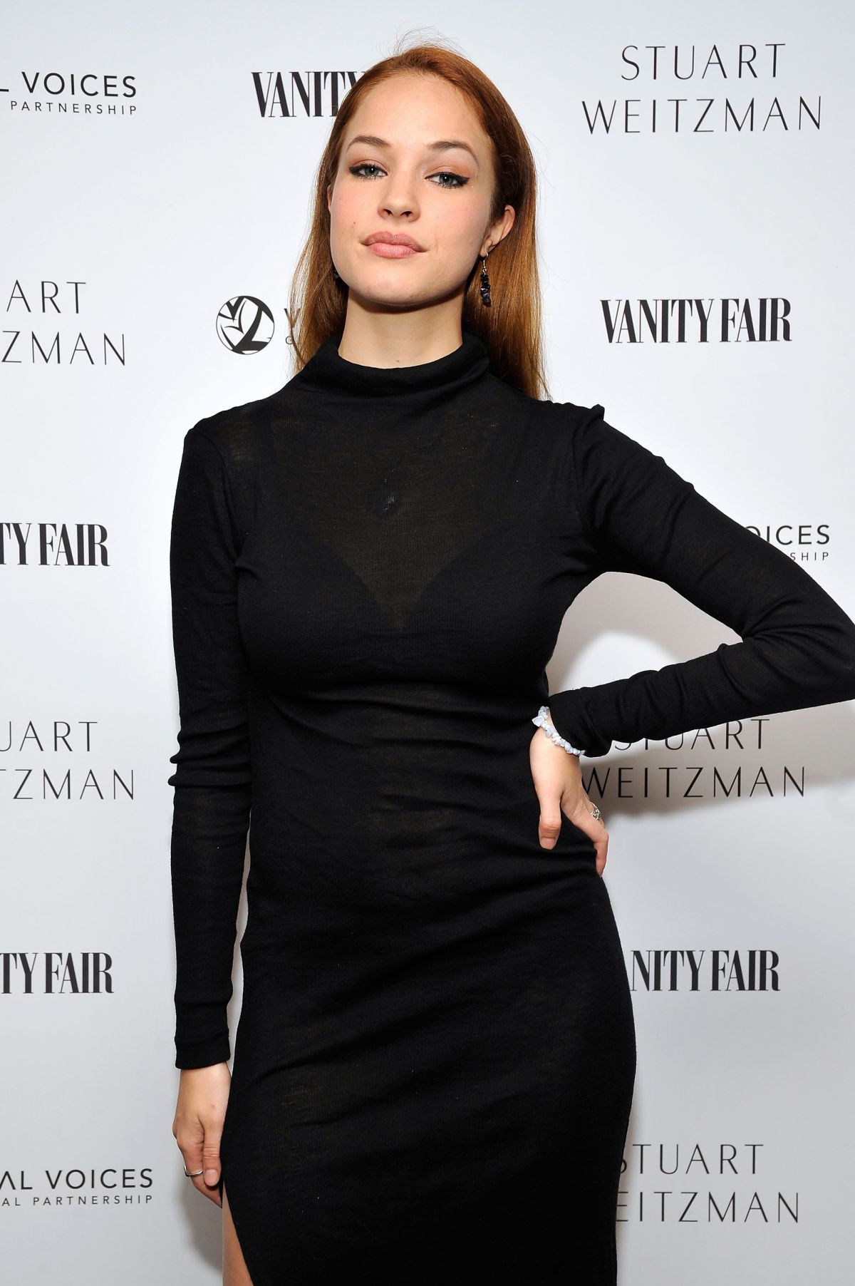 ALEXIS KNAPP at Vanity Fair and Stuart Weitzman Luncheon in West Hollywood 02/26/2016