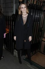 ALICE MANNERS at Annabel's Bright Young Things Party in London 02/11/2016