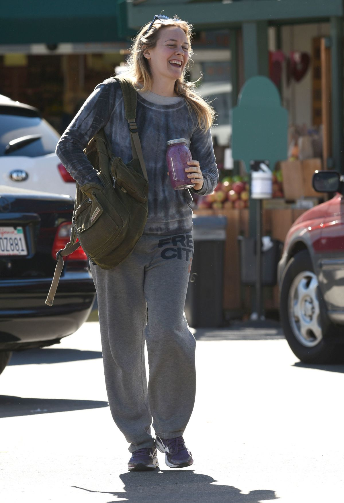 ALICIA SILVERSTONE at Whole Foods in Los Angeles 02/05/2016