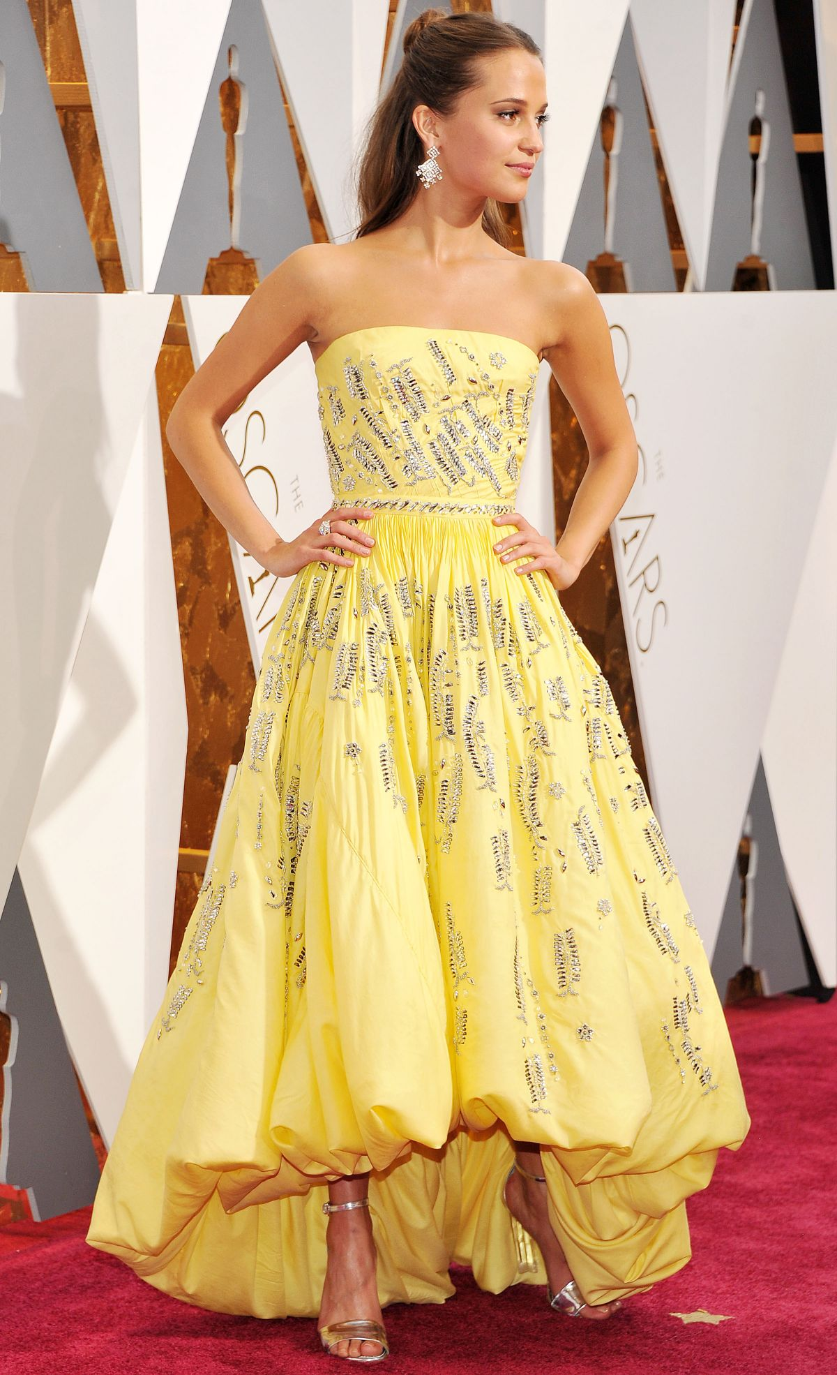 ALICIA VIKANDER at 88th Annual Academy Awards in Hollywood