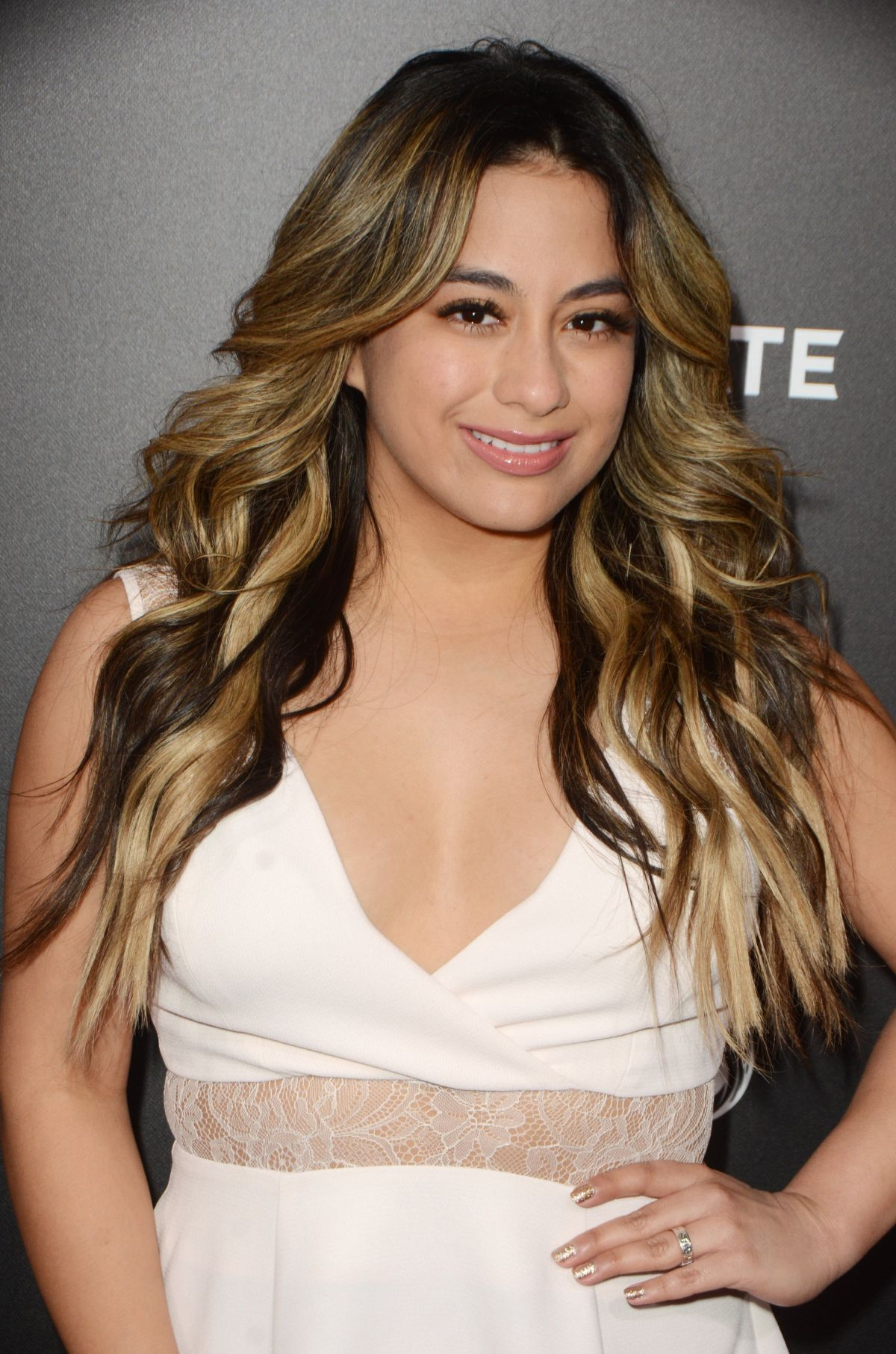 ALLY BROOKE at The Choice Premiere in Hollywood 02/01/2016
