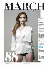 ALYSON STONER in Cliche Magazine, February/March 2016 Issue