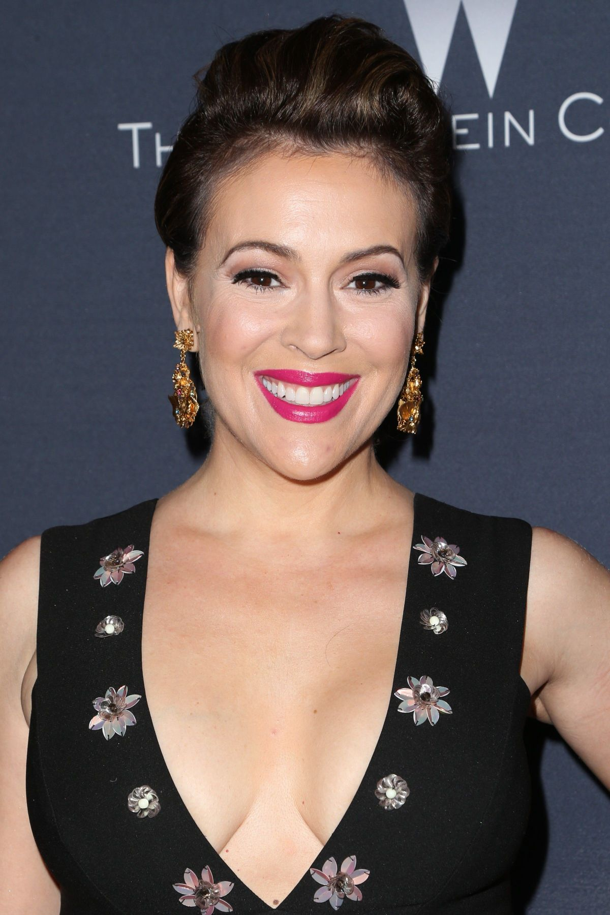 ALYSSA MILANO at The Weinstein Company