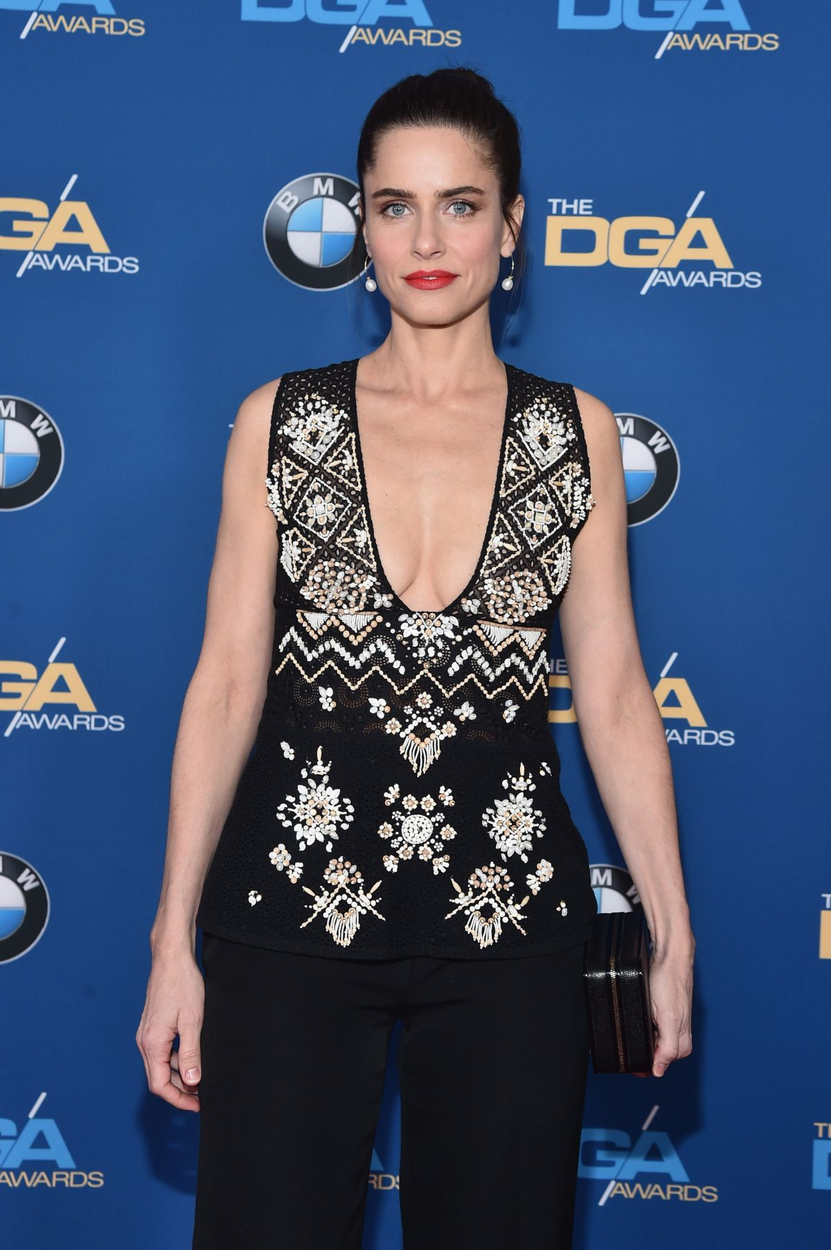 AMANDA PEET at 68th Annual Directors Guild of America Awards in Los Angeles 02/06/2016