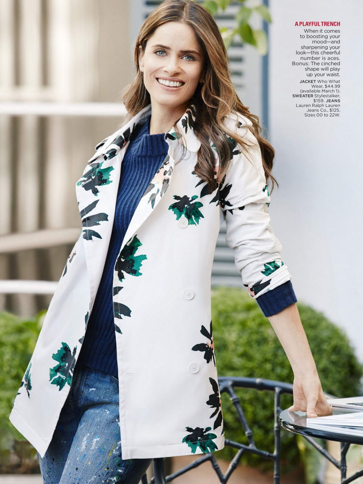 AMANDA PEET in Redbook Magazine, March 2016 Issue