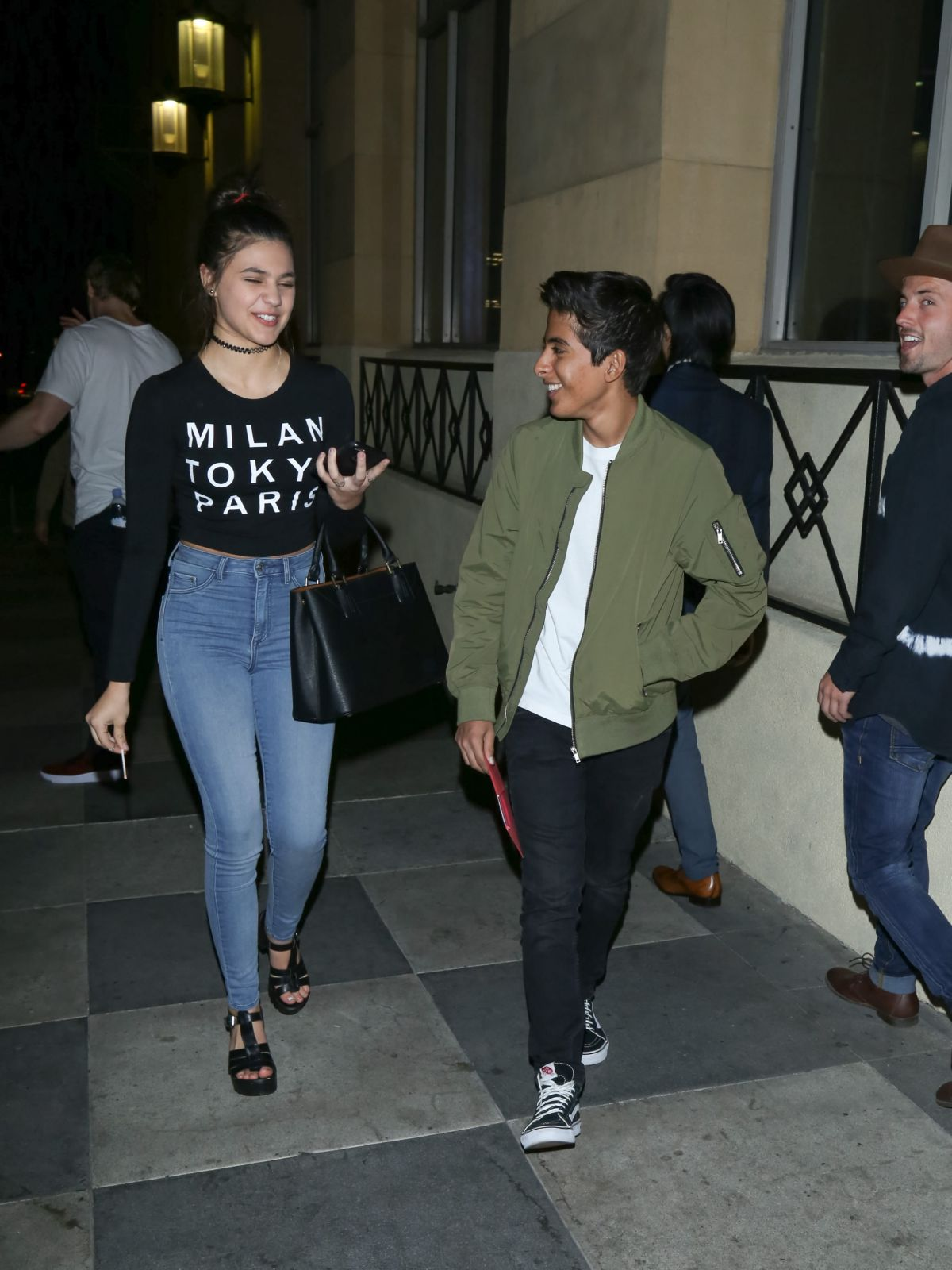AMBER MONTANA Leaves Roosevelt Hotel in Hollywood 02/10/2016