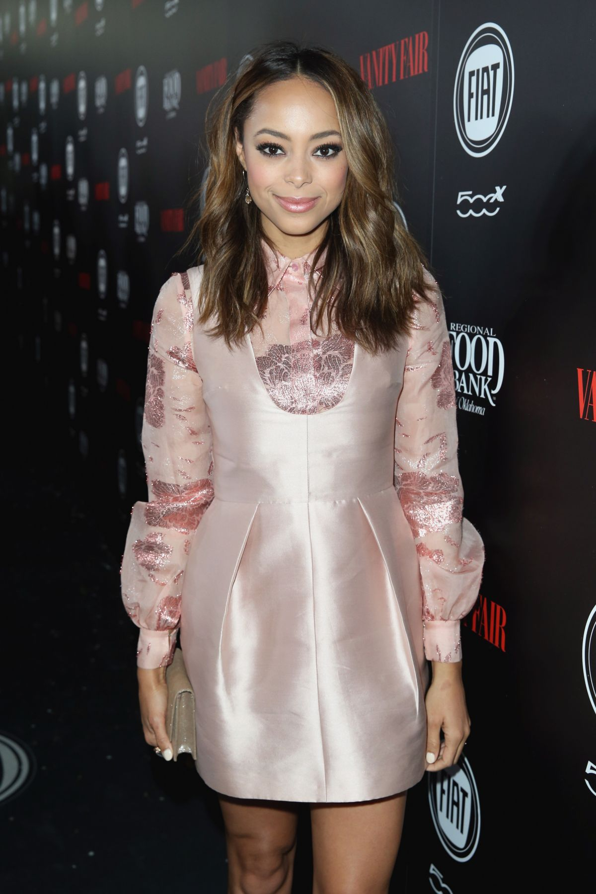 AMBER STEVENS at Vanity Fair and Fiat Young Hollywood Celebration in Los Angeles 02/23/2016