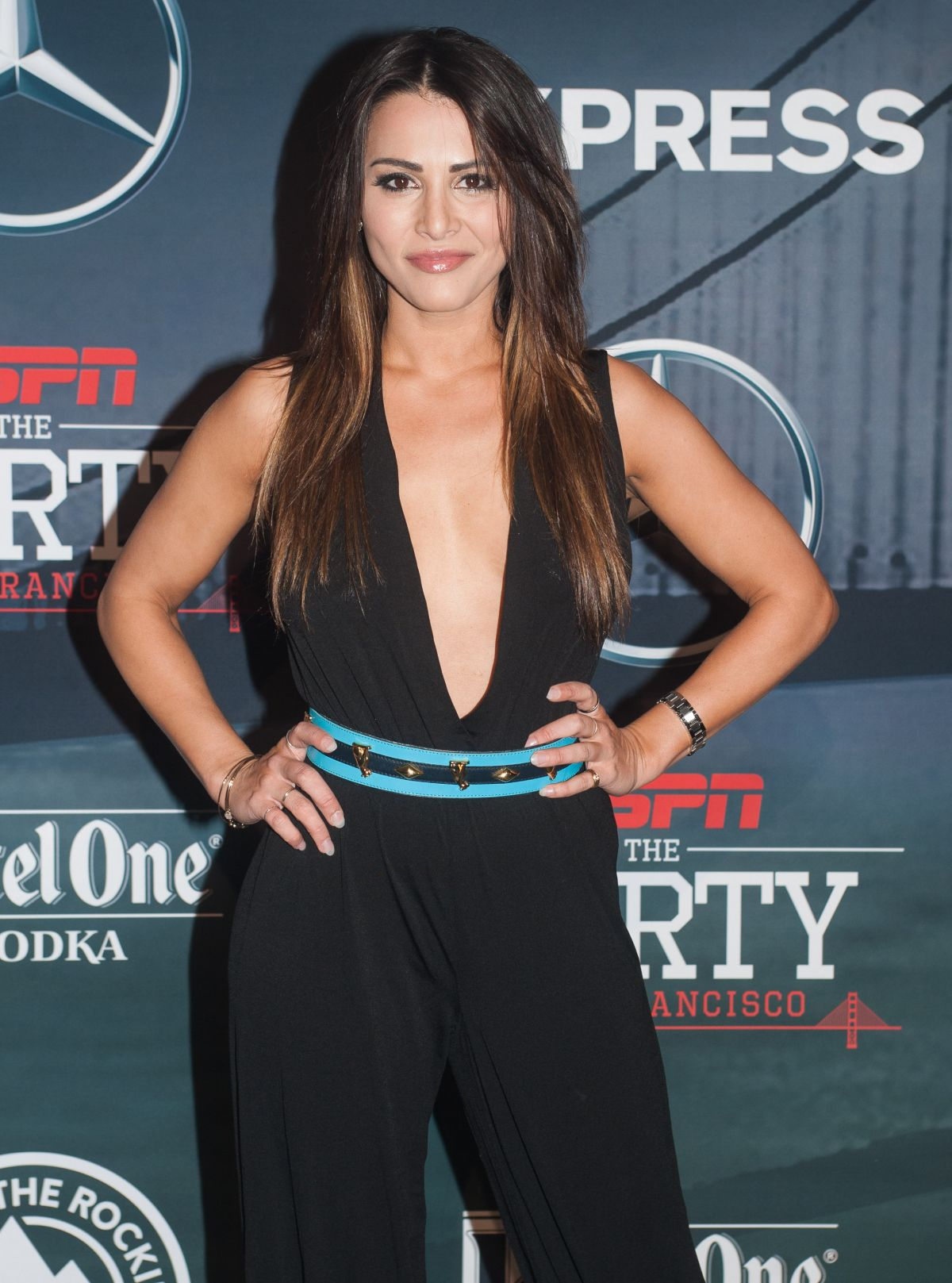 ANDI DORFMAN at ESPN The Party in San Francisco 02/05/2016