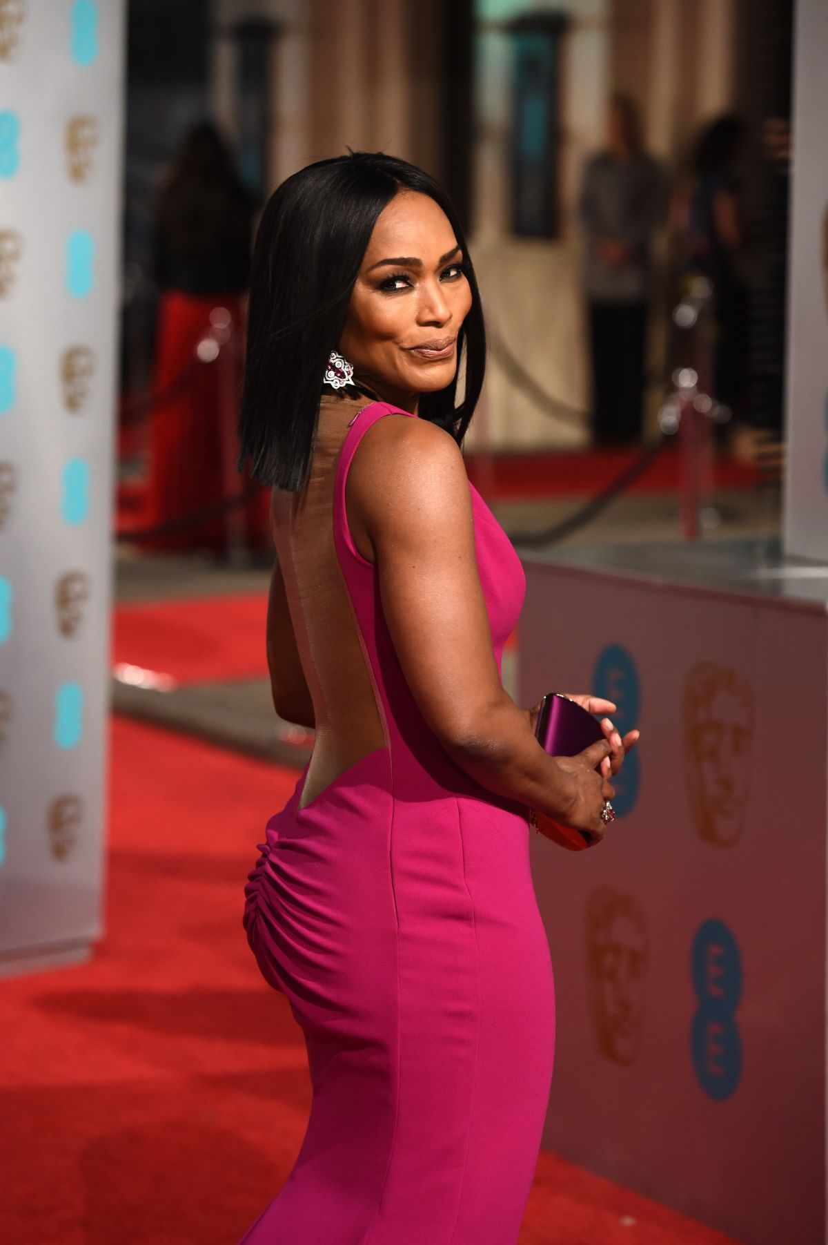 ANGELA BASSETT at British Academy of Film and Television Arts Awards 2016 in London 02/14/2016