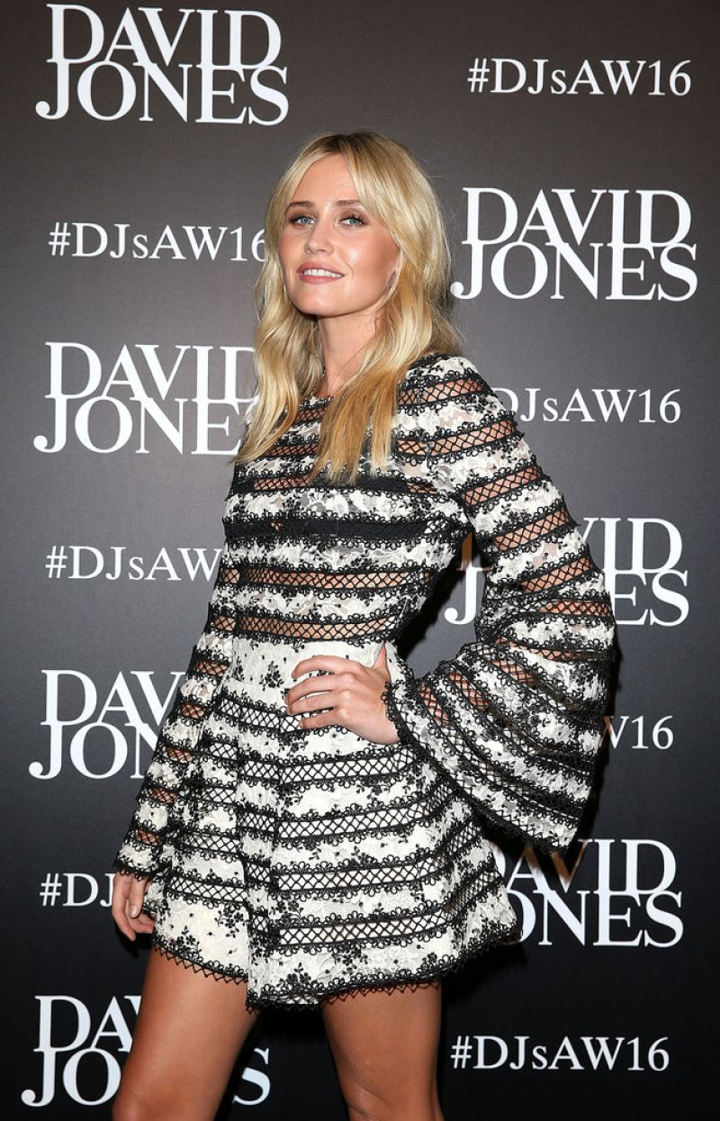 ANNA BAMFORD at David Jones Autunb/Winter 2016 Fashion Launch in Sydney 02/03/2016
