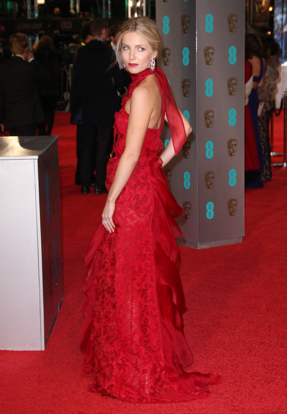 ANNABELLE WALLIS At British Academy Of Film And Television