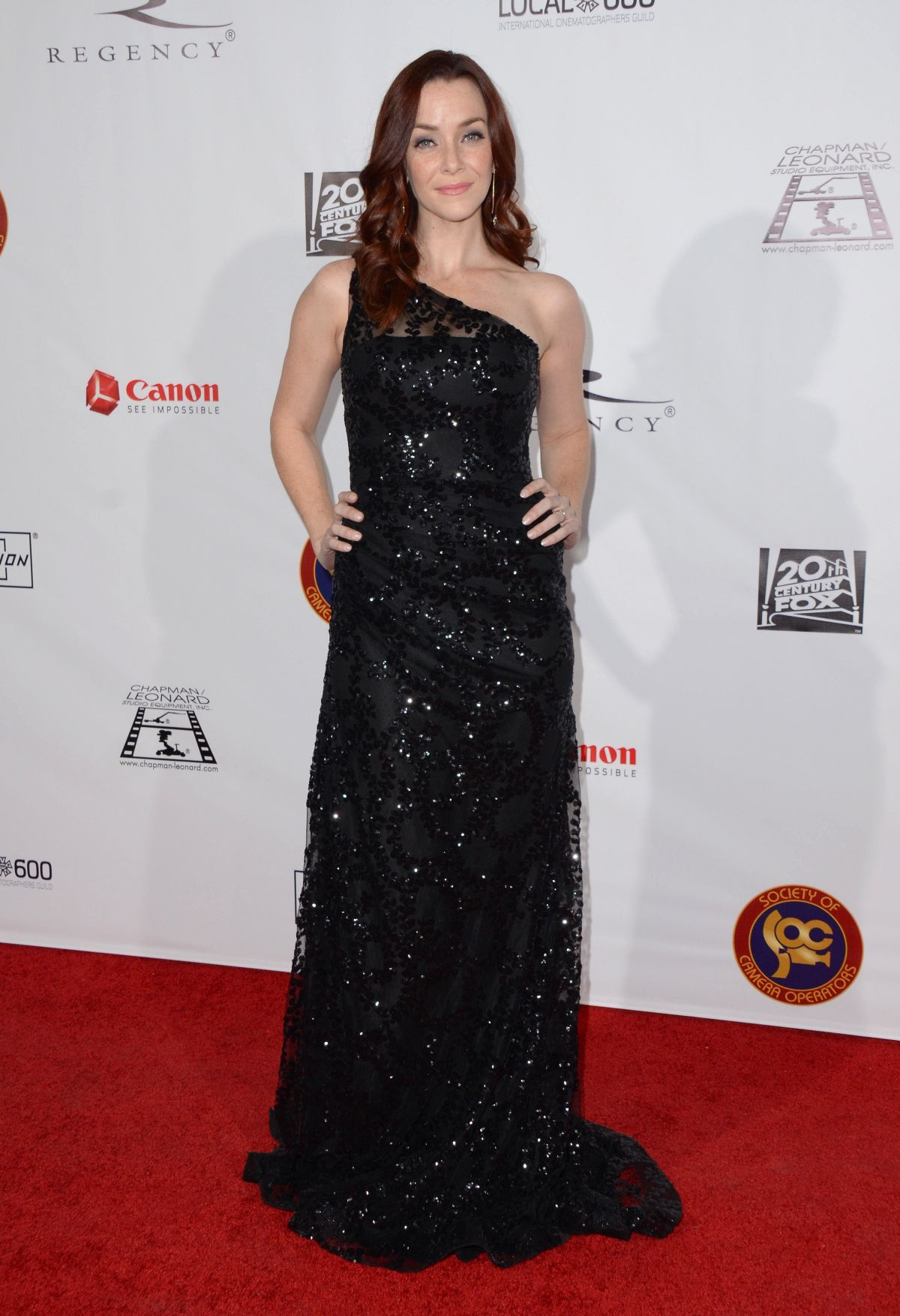ANNIE WERSCHING at Society of Camera Operators Lifetime Achievement Awards in Los Angeles 02/06/2016