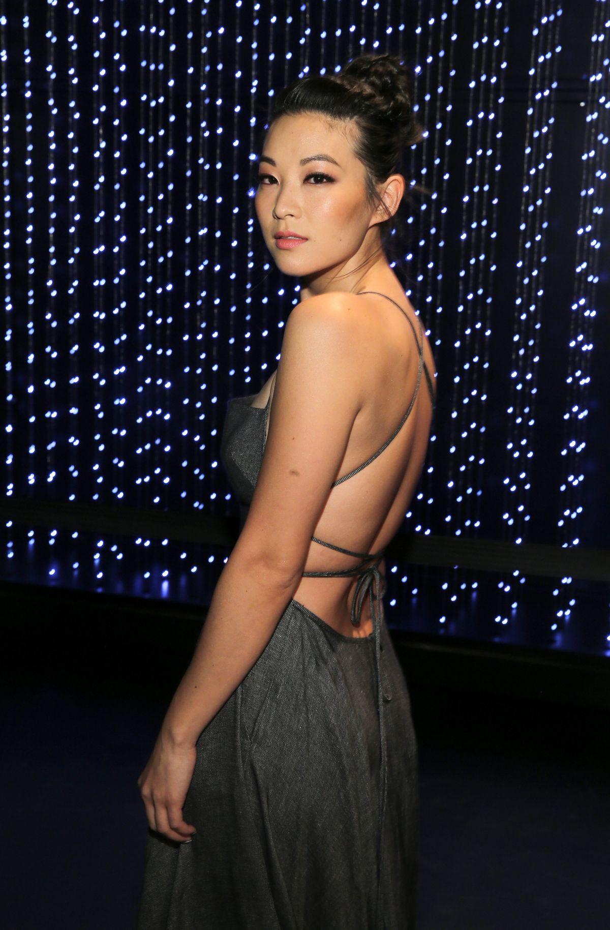 ARDEN CHO at Milly Fashion Show at New York Fashion Week 02/12/2016
